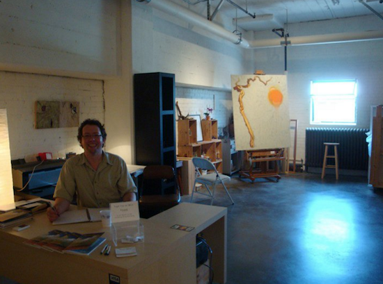 Me in one of our former locations, October 2010